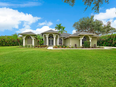 West Palm Beach Single Family Home For Sale: 16552 77th Trail