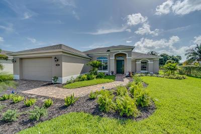 Port Saint Lucie Single Family Home For Sale: 188 SW Ridgecrest Drive