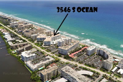 Palm Beach Condo For Sale: 3546 S Ocean Boulevard #423