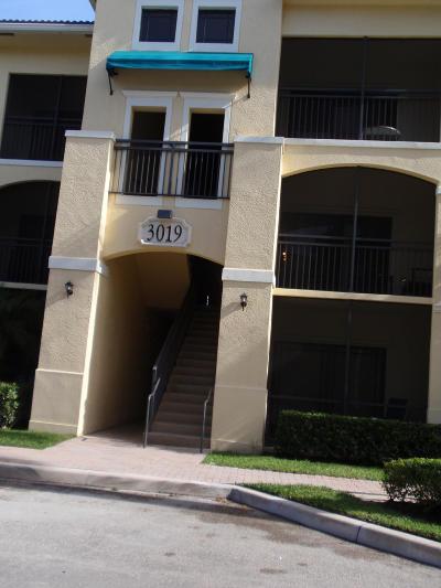 Palm Beach Gardens Rental For Rent: 3019 Alcazar Place #301