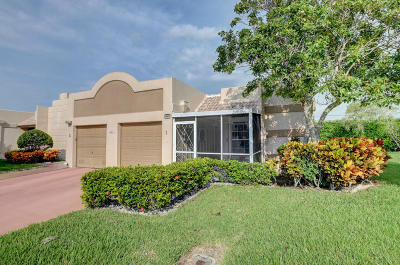 Boca Raton Single Family Home For Sale: 9305 Flynn Circle #1