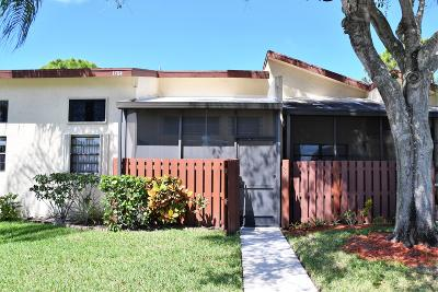 Fort Pierce Single Family Home Contingent: 1704 W Sanderling Lane #3