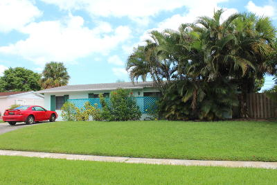 West Palm Beach FL Single Family Home For Sale: $275,000