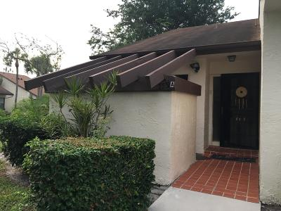 Lake Worth Single Family Home For Sale: 7551 Caessar Street A Street