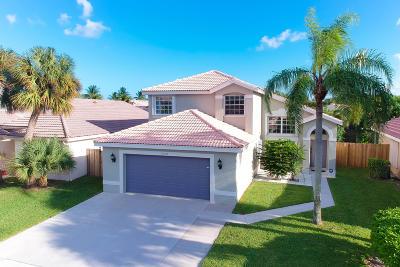 Boynton Beach Single Family Home For Sale: 8258 White Rock Circle