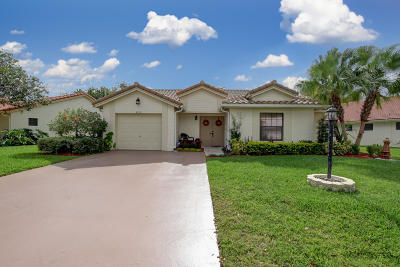 Boynton Beach Single Family Home For Sale: 4730 Catamaran Circle Circle