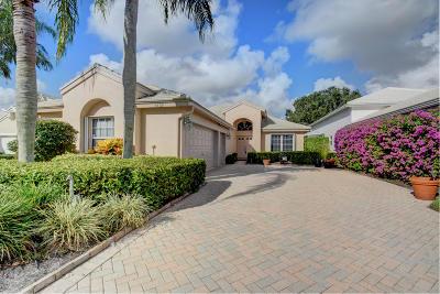 Boynton Beach Single Family Home For Sale: 6429 Three Lakes Lane