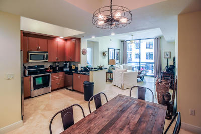 West Palm Beach Condo For Sale: 701 S Olive Avenue #805