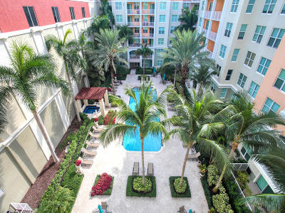 Lantana Condo For Sale: 804 E Windward Way #604
