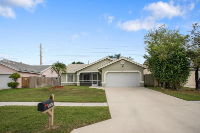 Boynton Beach Single Family Home For Sale: 5065 Rosen Boulevard
