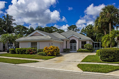 Hobe Sound Single Family Home For Sale: 7552 SE Marsh Fern Lane