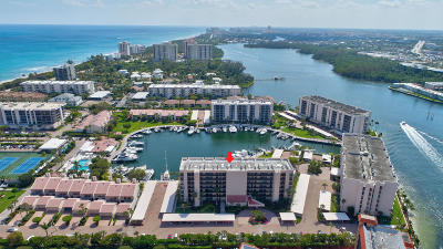 Yacht & Racquet Club Of Boca Raton, Yacht & Racquet Club Of Boca Raton Condo Condo For Sale: 2707 Ocean Boulevard #503