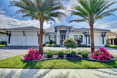 Delray Beach Single Family Home For Sale: 4086 Live Oak Boulevard