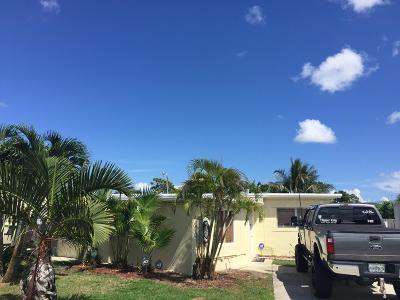 Lake Worth Single Family Home For Sale: 3198 Ford Road
