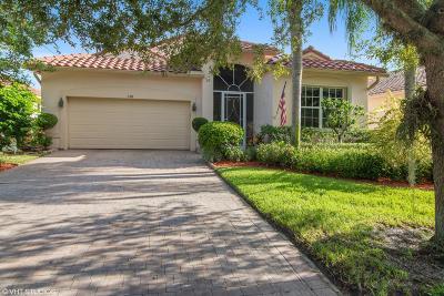 Port Saint Lucie Single Family Home For Sale: 358 Shoreline Circle