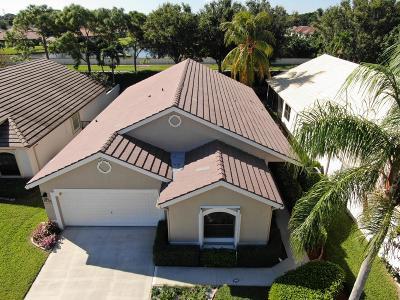 Boynton Beach Single Family Home For Sale: 10267 Lexington Lakes Boulevard S