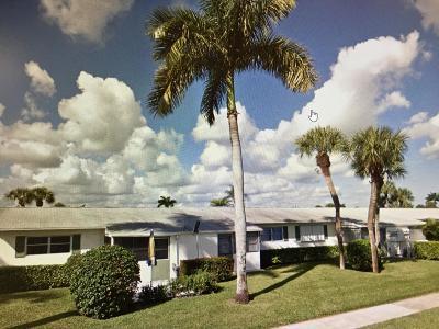 West Palm Beach Condo For Sale: 2894 Crosley Drive E #J