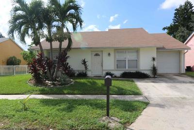 Lake Worth Single Family Home For Sale: 5601 Priscilla Lane