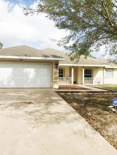 St Lucie County Single Family Home Contingent: 521 SW Todd Avenue