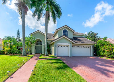 Lake Worth Single Family Home For Sale: 6820 Hatteras Drive