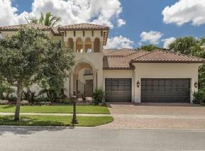 Broward County, Palm Beach County Single Family Home For Sale: 17563 Middle Lake Drive