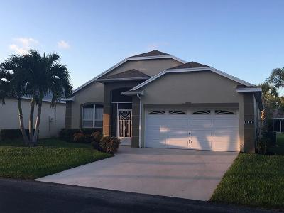 Port Saint Lucie Single Family Home For Sale: 980 NW Tuscany Drive