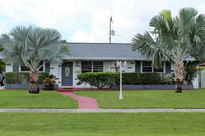 West Palm Beach FL Single Family Home For Sale: $244,000