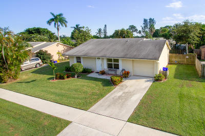 Lake Worth Single Family Home Contingent: 4638 Carthage Circle