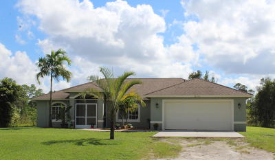 West Palm Beach Single Family Home For Sale: 13590 76th Road