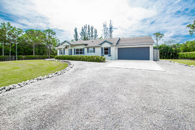 Loxahatchee Single Family Home For Sale: 17756 30th Lane