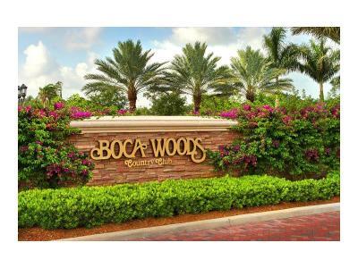 Boca Raton Single Family Home For Sale: 10610 Crystal Lake Drive