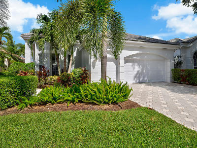 Palm Beach Gardens Single Family Home For Sale: 166 Windward Drive