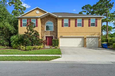 Fort Pierce Single Family Home For Sale: 2530 Madewood Drive