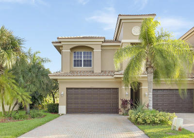 Royal Palm Beach Townhouse For Sale: 210 Catania Way