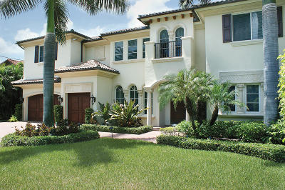 Palm Beach County Single Family Home For Sale: 4104 S Ocean Boulevard