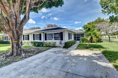 Boynton Beach Single Family Home For Sale: 10077 41st Drive S