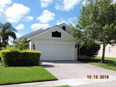 Royal Palm Beach Single Family Home For Sale: 120 Newberry Lane
