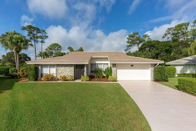 Palm City Single Family Home For Sale: 3680 SW Starling Terrace