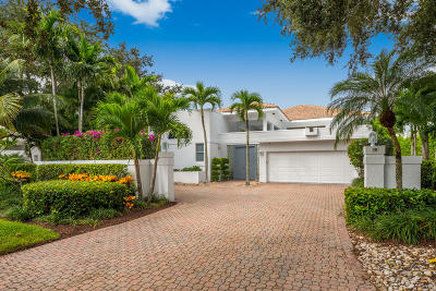 Jupiter Single Family Home For Sale: 133 Waters Edge Drive
