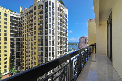 West Palm Beach Condo For Sale: 801 S Olive Avenue #1611