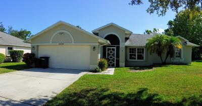 Port Saint Lucie, Saint Lucie West Single Family Home For Sale: 8224 Sandpine Circle
