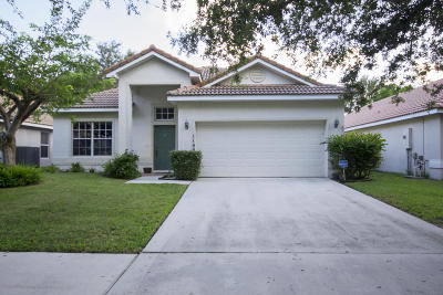 Delray Beach Single Family Home For Sale: 1140 Delray Lakes Drive