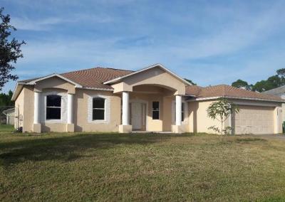 Port Saint Lucie Single Family Home For Auction: 1485 SW Santiago Avenue
