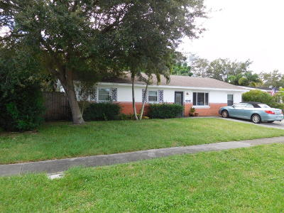 Palm Beach Gardens Single Family Home For Sale: 4348 Bamboo Drive