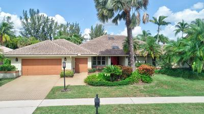 Boca Raton Single Family Home For Sale: 10394 Stonebridge Boulevard