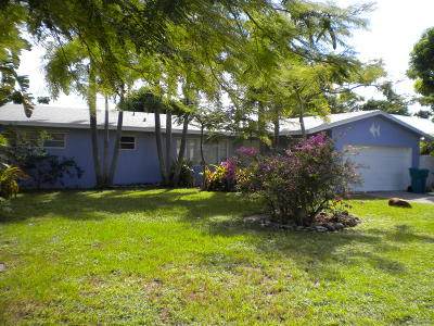 Boynton Beach Single Family Home For Sale: 710 SW 27th Terrace