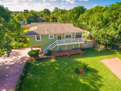 Lake Worth Single Family Home For Sale: 9290 Brandy Lane