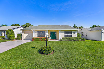 Lake Worth Single Family Home For Sale: 6309 Emerald Sky Lane