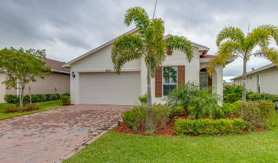 Port Saint Lucie Single Family Home For Sale: 10375 SW Indian Lilac Trail