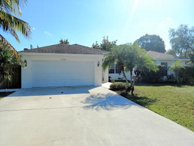 Port Saint Lucie Single Family Home For Sale: 1061 NW Bayshore Boulevard